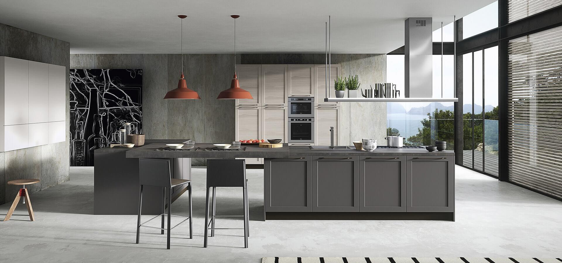 Decoracion de cocinas modernas en zaragoza blunni for Mesas cocina zaragoza