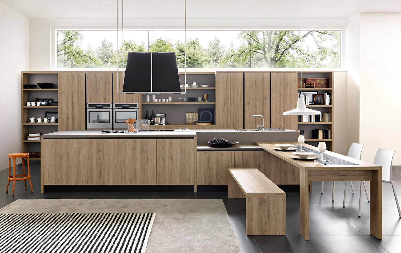 Decoracion de cocinas modernas en zaragoza blunni for Estilos de cocinas integrales modernas