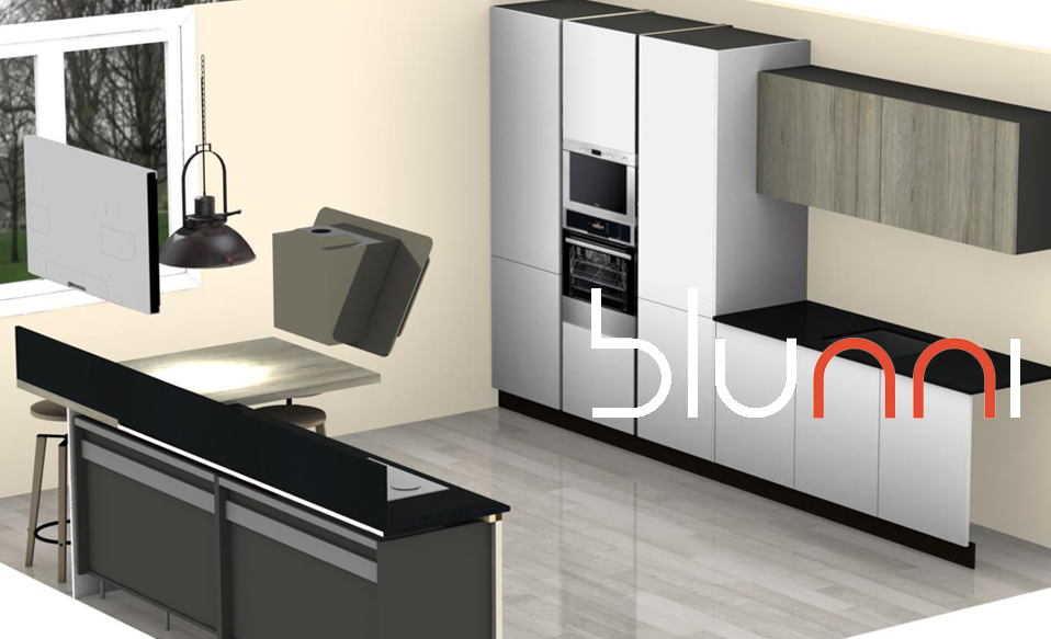 Cocina comoda for Proyecto muebles de cocina